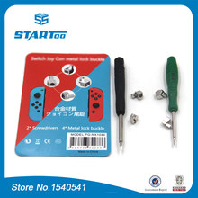 1PCS-5PCS New 1pair metal lock buckle with opening tool For Nintendo Switch Joy-con NS JOY CON Nintend Switch repair part