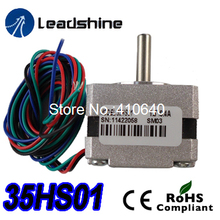 Free Shipping GENUINE Leadshine step motor 35HS01 High Performance 2 Phase NEMA 14 Hybrid Stepper Motor with 0.07 N.m torque