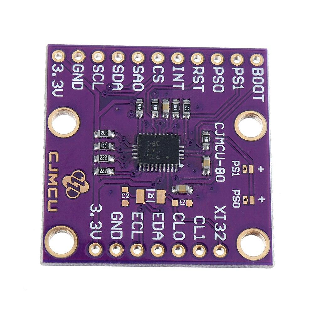 CJMCU-80 BNO080 VR/AR Virtual Reality 3D 9DOF 9-axis Attitude Sensor Module cjmcu 116 mpu9250 spi iic high precision 9 axis 10dof altitude sensor module