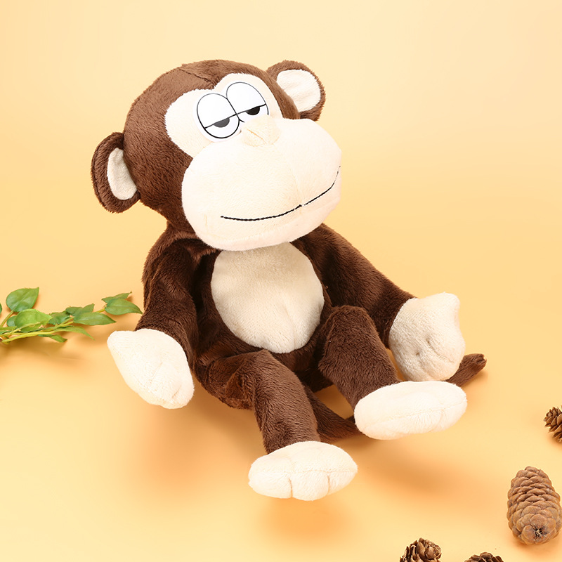 Electronic Monkey Robot Monkey Plush Animal Toy Sound Control Laughing Talking Interactive Toys For Children Birthday Gifts цена