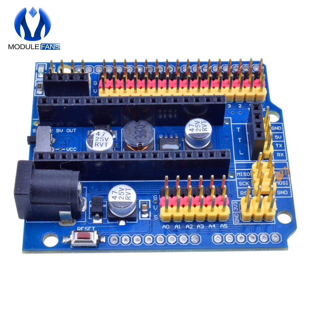 For arduino Nano v3.0 I//O expansion board micro sensor shield Uno r3 leonardo