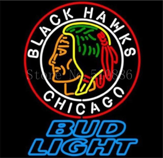 """NEON schild Für Chicago indians reine handgemachte Real Glasrohr BEER BAR PUB shop display Geschäfts Shop Licht Zeichen 19*15"""""""