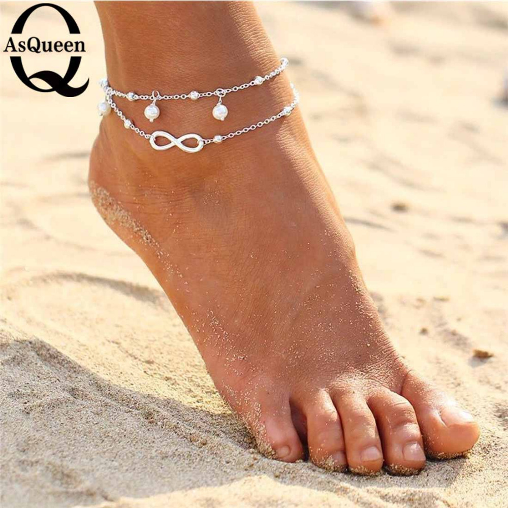 For Women Gold Plated Starfish Star Ankle Chain Anklet Bracelet Foot Jewelry NEW