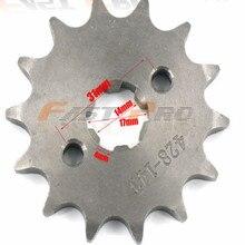 428 motor gear metal inner diameter 17MM 11-19teeth freeshipping