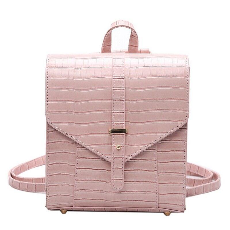 Women PU Leather Bag Black Vintage Bagpack 2017 Women Famous Brands Designer Female Shoulder Bag Sac