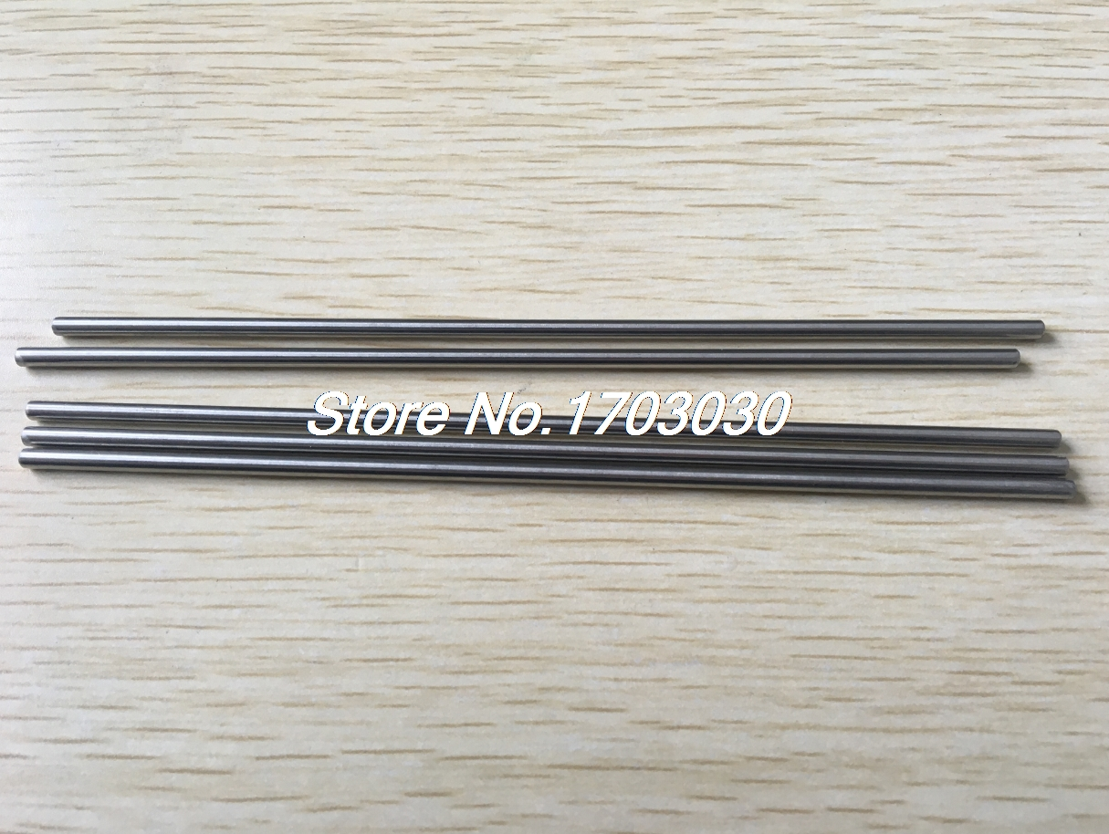 20 Pcs 3mm Dia 17cm Long Stainless Steel RC Helicopter Transmission Round Rods rc helicopter 40mm x 3mm stainless steel ground shaft round rod 20pcs