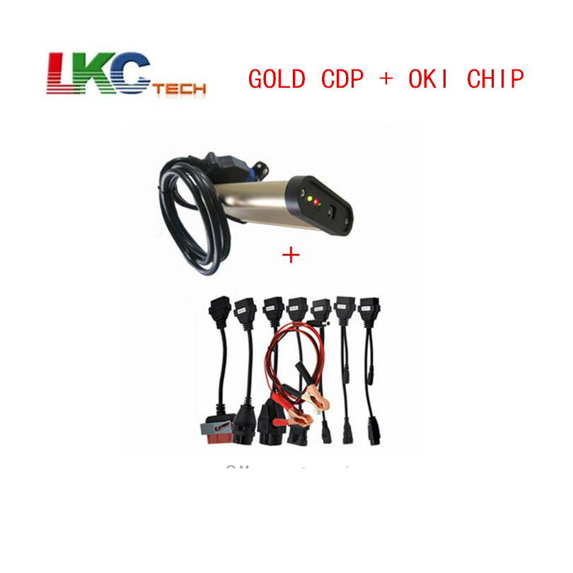 2018 Gold TCS CDP With bluetooth + OKI chip 2015 R1 Newest TCS CDP Pro + Full set 8 car cables auto diagnostic tool OBD2 Scanner discount price gold tcs cdp with bluetooth 2015 r1 newest tcs cdp pro full set 8 car cables auto diagnostic tool obd2 scanner