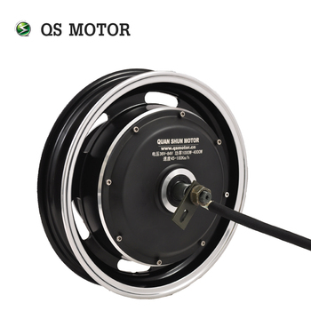 QS Motor 12inch 2000W 205 50H V1 48V 60V Brushless DC Electric Scooter Motorcycle Hub Motor image
