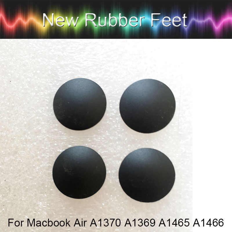 """العلامة التجارية الجديدة 4 قطعة/المجموعة قواعد مطاطية غطاء سفلي لصندوق الكمبيوتر أقدام القدم كيت ل ماك بوك الهواء A1370 A1465 A1369 A1466 11 """"13"""""""