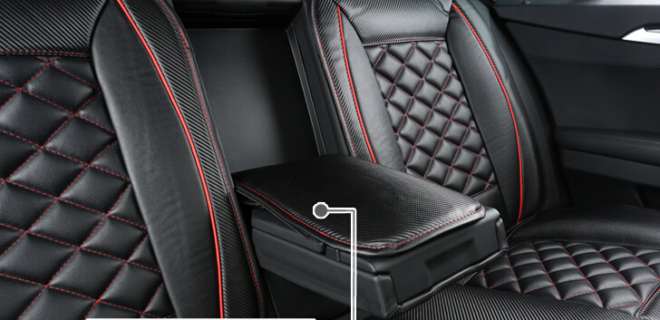 Good Quality Special Seat Covers For Honda Civic 2014 2012 Durable Carbon Fiber Leather Cover 2013Free Shipping In Automobiles