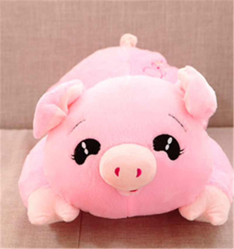 ФОТО New PP Cotton Baby Papa Pig doll Pig pillow Baby plush toy baby gift Free shipping