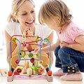 Игрушки для маленьких детей Классические Игрушки Деревянные Борта Лабиринт Ребенок Бусы Развивающие Игрушки Высокого Качества Игрушки Рай Ребенка Подарок На День Рождения