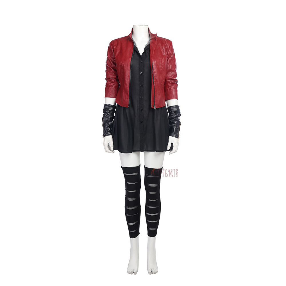 Athemis movie Avengers Age of Ultron Scarlet Witch Cosplay cosplay Costume custom made set High Quality