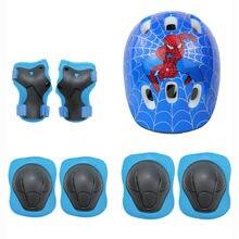 7 комплектов детских защитных коленных суставов для шлема автомобиля