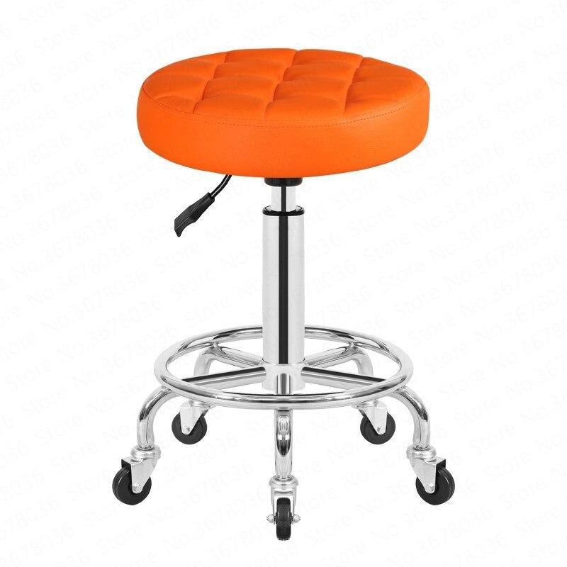 Tabouret de beauté poulie chaise de travail ascenseur rotatif maquillage chaise de beauté Salon de beauté spécial tabouret rond chaise de barbier meubles de Salon