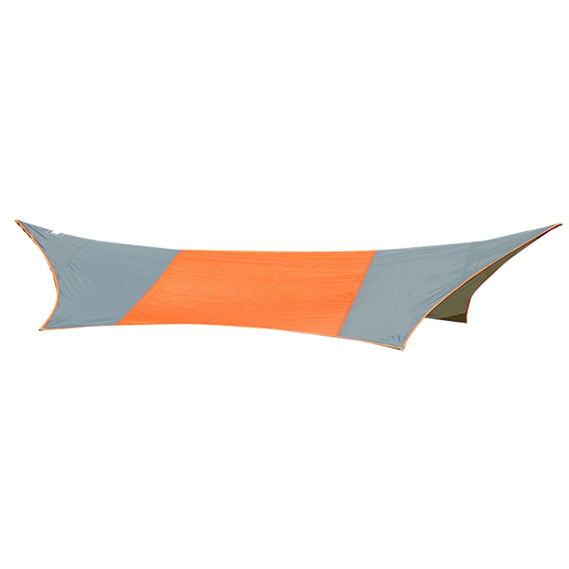 New Sale Top Lander 410X410Cm Beach Sun Shelter Tent Waterproof Rain Camping Sunshade Awning Outdoor Sun Shade Canopy For Beac