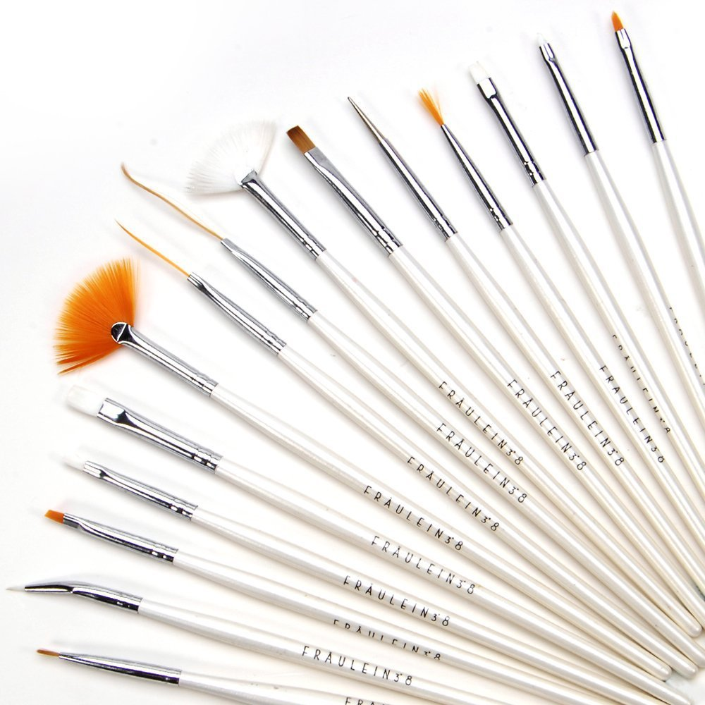 Aliexpress buy white nail brushes for nail art tool nail aliexpress buy white nail brushes for nail art tool nail art decoration makeup painting brushes 15 piecespack from reliable painting of fruit bowl prinsesfo Choice Image