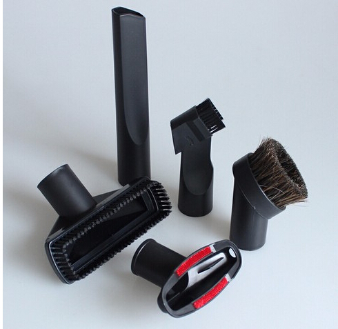 plastic 6 in 1 vacuum cleaner nozzle set  for 32mm  or 35mm kit of floor brush and nozzles cleaning tool vacuum cleaning kit attachement kit dusting dusting brush nozzle crevices tool upholster tool for 32mm