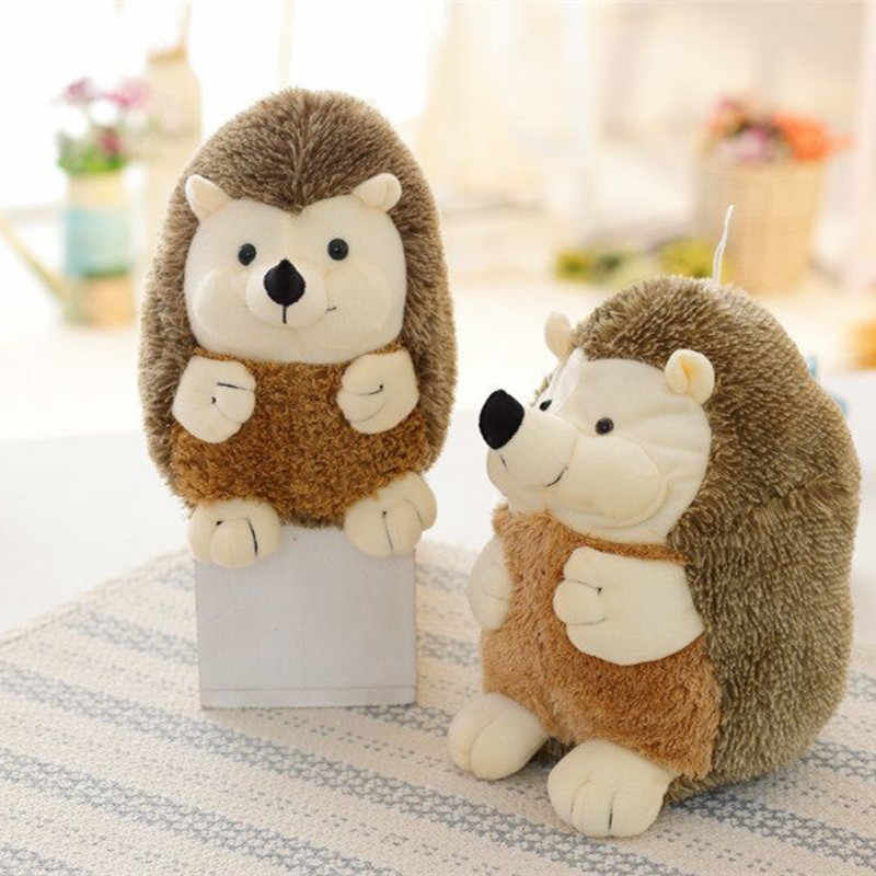 1pc 17cm Hot Cartoon hedgehog plush toy doll bigpillow for girl gift baby toy kawaii juguetes brinquedos kid toys