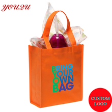 custom non woven bag shopping bag tote bag as promotion or advertisement