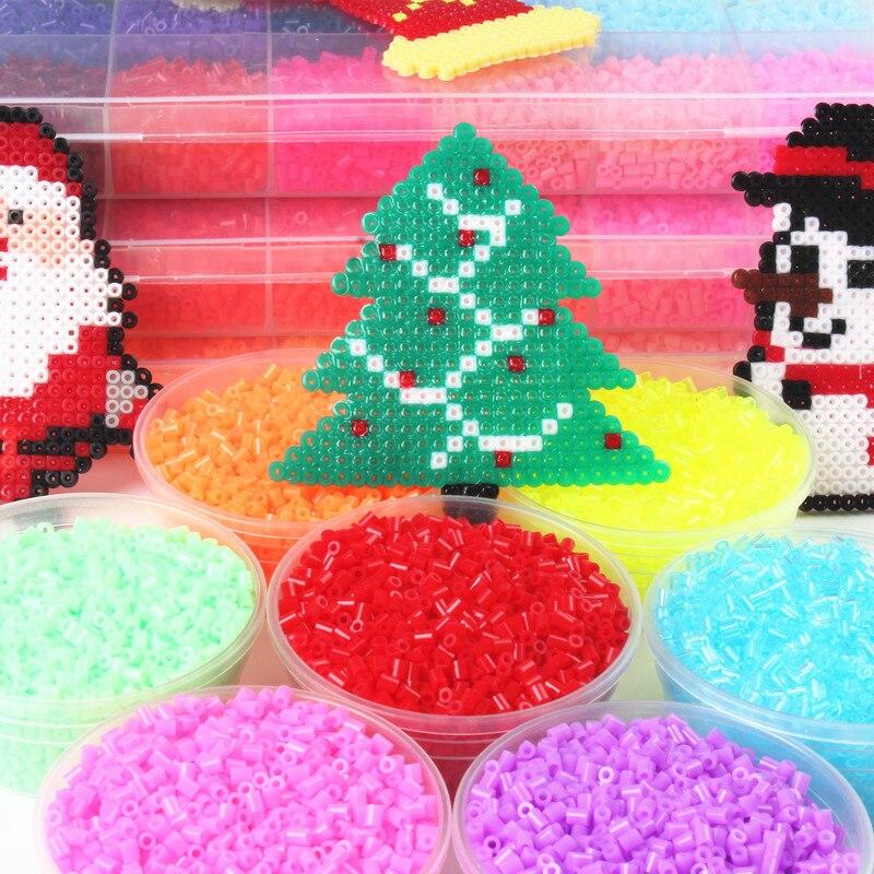 72 Colors 2.6mm Hama Beads Puzzle Toys 1000pcs/bag Kids Education Diy Perler Beads 3D Puzzle Toys for Children Perles de Hama