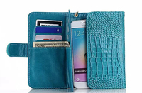 Outdoor Lady Strap Hand Card Wallet Leather Mobile Phone Cases Bag Pouch For Xiaomi Mi Mix