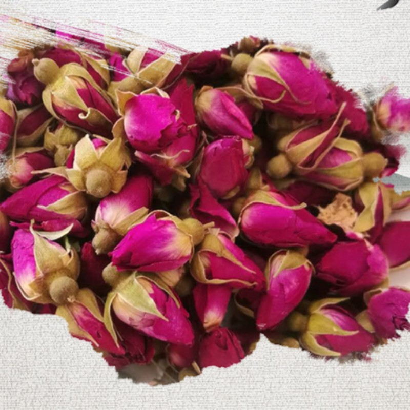 Image 2 - NEW Natural 1bag  250g Dried Rose Flower Rose bud Rose Girl Women gift wedding decoration-in Artificial & Dried Flowers from Home & Garden