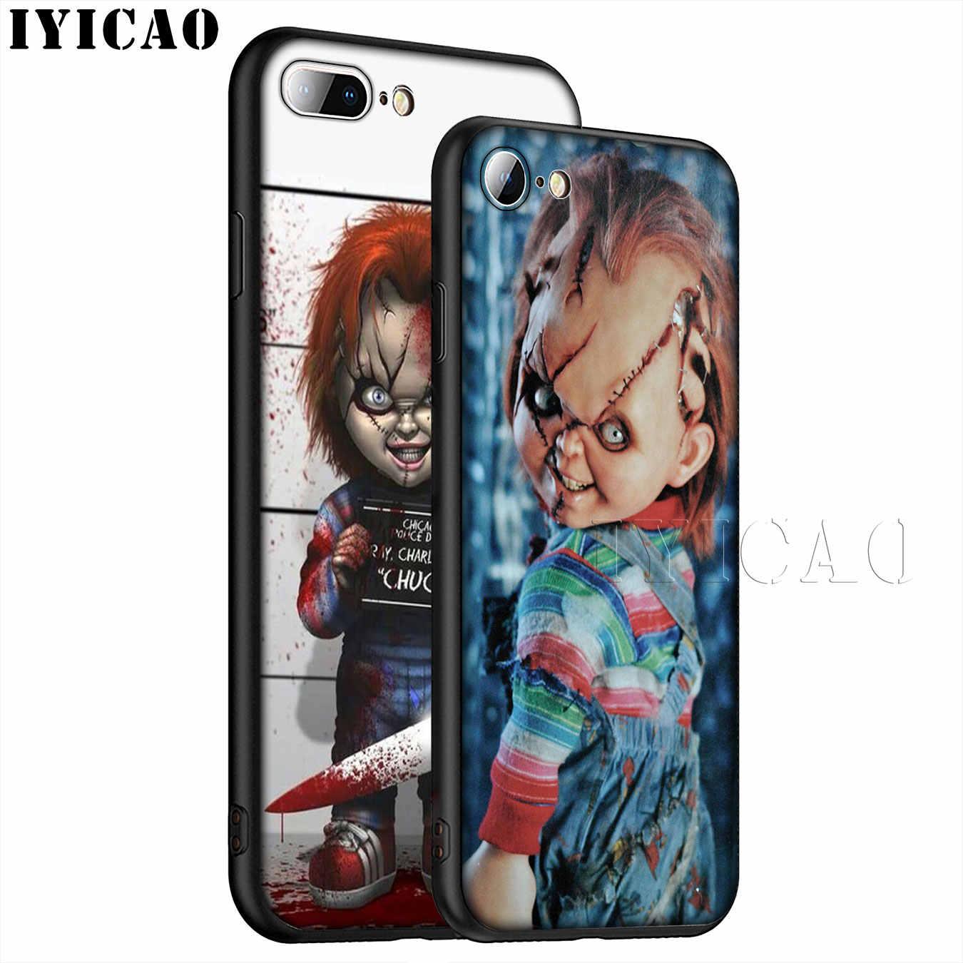 IYICAO Charles Lee Ray кукла Чаки хит продаж Мягкий силиконовый чехол для телефона iPhone XR X XS 11 Pro Max 6 6S 7 8 Plus 5 5S SE 10