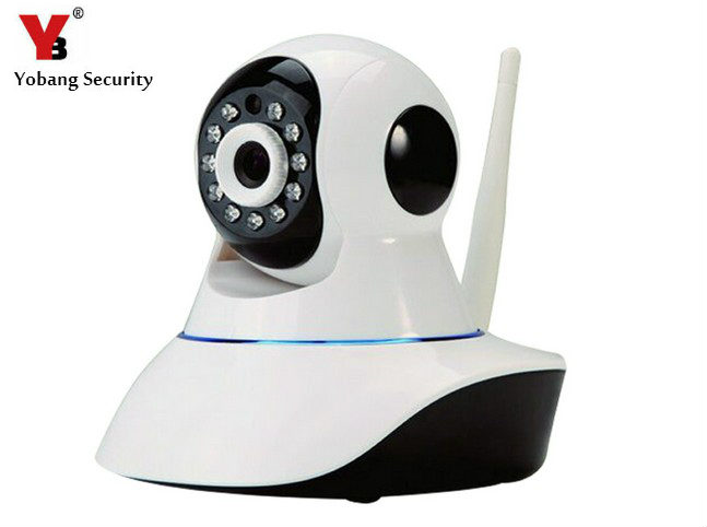 YobangSecurity IOS Android Application Controls 2.4G Wireless WiFi GSM IP Camera HD 720P Wireless Camera For G90B Alarm System