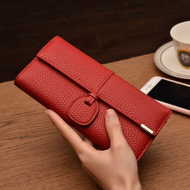 2017 New Hasp Solid Wallets Women Long Money Bag Wallets PU Leather Lady Purses Card Holders Phone Bag Big Capacity Clutch Bag korean style women wallet solid color long pattern wallets hasp large capacity bag lady money purse card holders female wallet