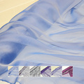 100% real Mulberry pure silk fabric for dress scarves chiffon,inner lining 5-6mm width:114cm,length:300cm,YARN DYED