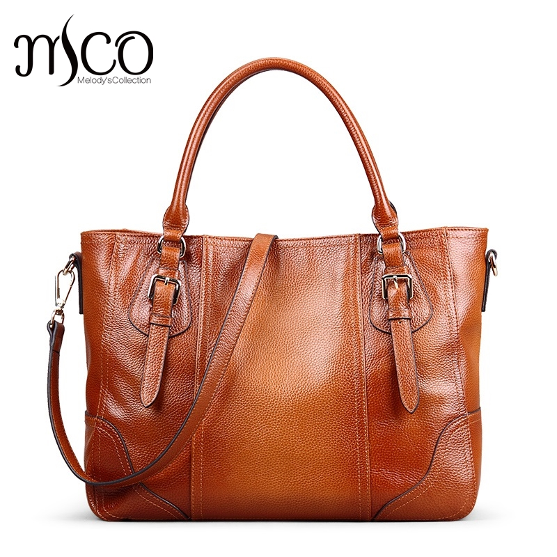 Vintage Genuine Soft Leather Large Tote Shoulder Bag Big Capacity Handbag Luxury Design Ladies Crossbody Bags bolsa satchel