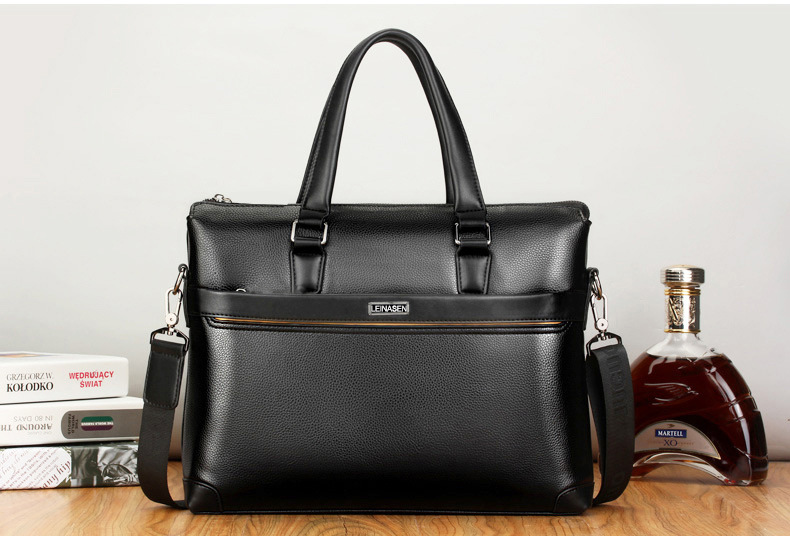 HTB1An1odgmH3KVjSZKzq6z2OXXaD bolso hombre maleta lawyer sac luxe sacoche homme leather briefcase messenger lo mas vendido business office laptop bags for men