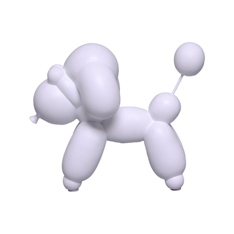 Ballon chien Statue ballon cerf cheval Figurine résine artisanat animaux Art Sculpture décoration de la maison cadeaux créatifs R1298