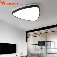 Super thin sleeping room, triangle, modern minimalist, LED ceiling lamp, stepless dimming palette lamp