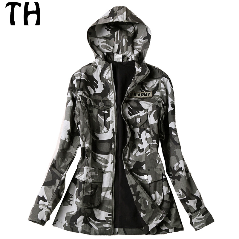 Survêtement Camouflage Veste Occasionnel Capuche Zipper Manteaux No1 De Printemps Femmes 2017 161914 Base qFBgzgw