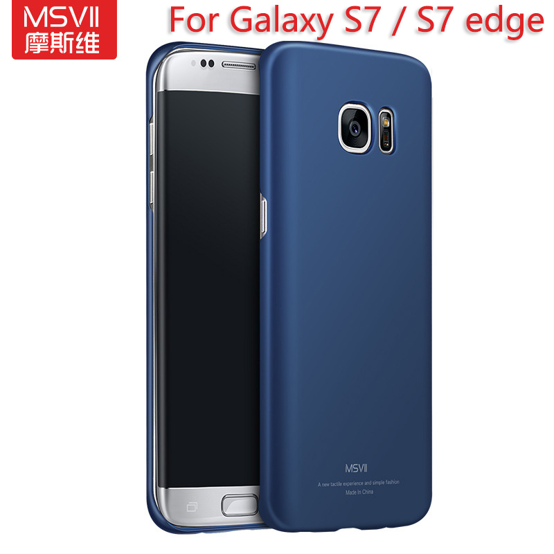promo code 9d45e 2c0db US $5.0 |MSVII Thin Light Scrub Back Case For Samsung Galaxy S7 / S7 Edge  Case Scrub Surface Semipermeable Plastic Cover Fundas Para on  Aliexpress.com ...