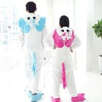 Kigurumi Unicorn Winter Adult Women Hooded Unicorn Onesie Cute Cartoon Animal Unicorn Pajamas For Women