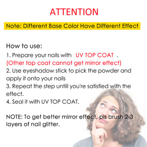 Image 5 - Pigment Voor Nagels Vtirka Nagellak Spiegel Poeder Chroom Pigment Glitter Shine Chrome Spiegel Poeder Voor Nagels Poeder SF0003