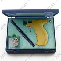 -Professionelle Ohrstecker Ohrring Piercing Pistole Werkzeuge Set