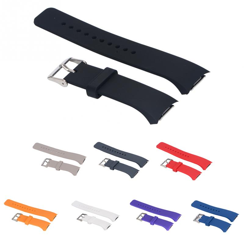 Silicone Watch Band Strap for Samsung Galaxy Gear S2 R720 R730 Band Strap Sport Watch Replacement Bracelet 8 Colors #917 New gear s2 watch band luxury tpu silicone strap watch band for samsung galaxy sm r720 colorful j