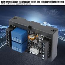 PLC Industrial Relay Module Controller FX1N-06MR Programmable Relay Delay Module DC 12V Relay Delay Module with Shell qy80 plc controller module