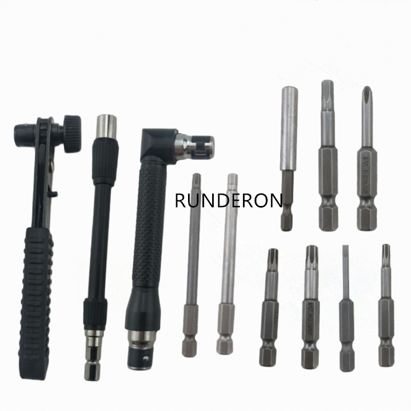 12pcs Fuel Metering Valve Unit Disassembly Repair Tools Kit for Common Rail Injection Pump