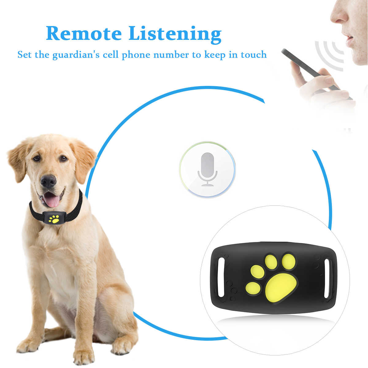 สัตว์เลี้ยงสุนัข GPS Tracker สุนัขแมว GPS ฟังก์ชั่น Z8-A-pet Tracker GPS กันน้ำ USB ชาร์จสัตว์เลี้ยงลูกสุนัขซัพพลายเออร์
