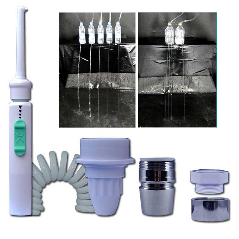 6 dysza kran Oral nawadniania wody zębów Flosser przenośny zęby irygatory strumieniem wody szczoteczka do zębów Oral nawadniania narzędzie do czyszczenia zębów