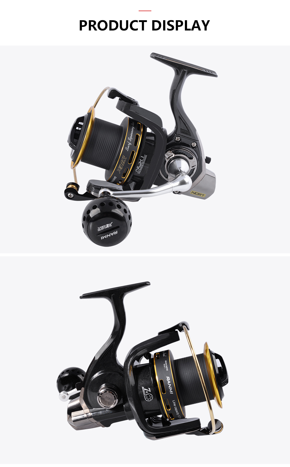 saltwater reels JI Fishing 6