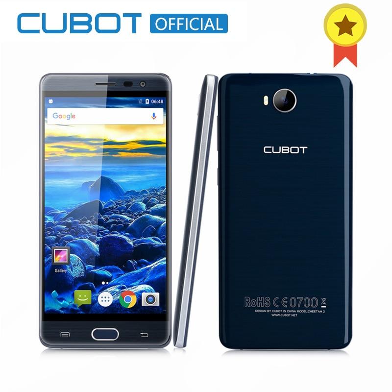 CUBOT Guépard 2 5.5 Pouce FHD MT6753 Octa base Smartphone 3 GB RAM 32 GB ROM Téléphone portable D'empreintes Digitales Type c Android 6.0 Mobile téléphone