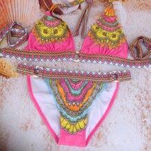 print flower bikini set