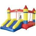 YARD Бесплатная Доставка В Наличии Двойной Слайд Надувной Замок Для Домашнего Использования Надувные Прыжки Области Милый Воздуха Игрушки Для Детей Весело