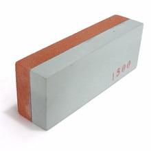 Профессиональный точильный камень 400/1500 зернистость двойная Двусторонняя точилка для ножей Wetstone нож водный камень кухонный инструмент